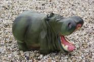 Nilpferd Hippo Gartenfigur