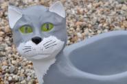 Katze Blumentopf