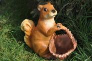 Eichhörnchen mit Korb