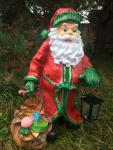 Weihnachtsmann XXL mit Lampe, Weihnachten, Nikolaus