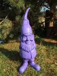 Zauberzwerg, Gartenzwerg XXL 100 cm groß Designer Zwerg Deko
