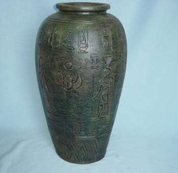 Ägyptische Vase Bodenvase