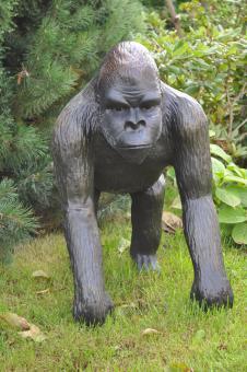 Gorilla Affe Dekofigur