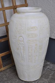 Ägyptische Vase, Bodenvase