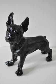 Französische Bulldogge Deko Figur