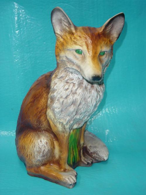Fuchs, sitzend