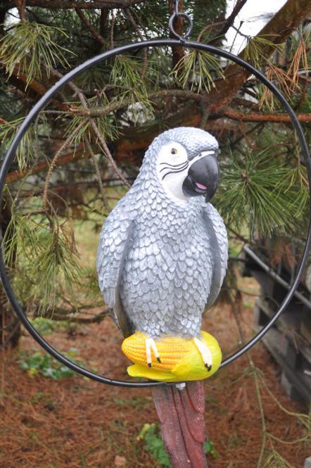 Papagei Ara DEKOFIGUR Gartenfigur