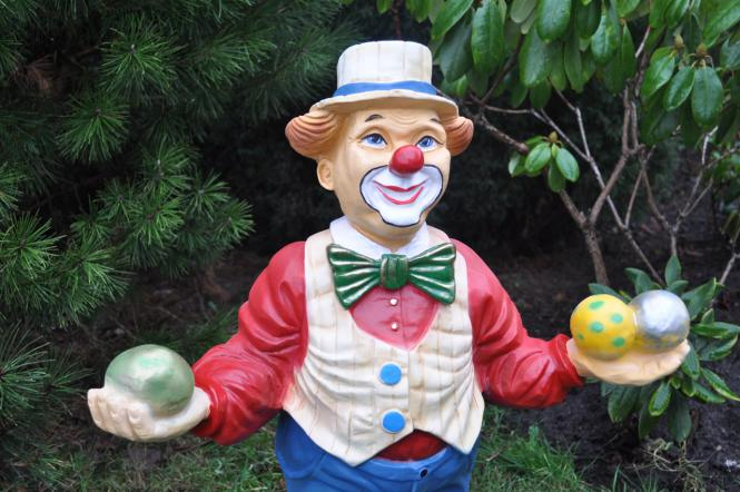 CLOWN Clownfigur Dekofigur