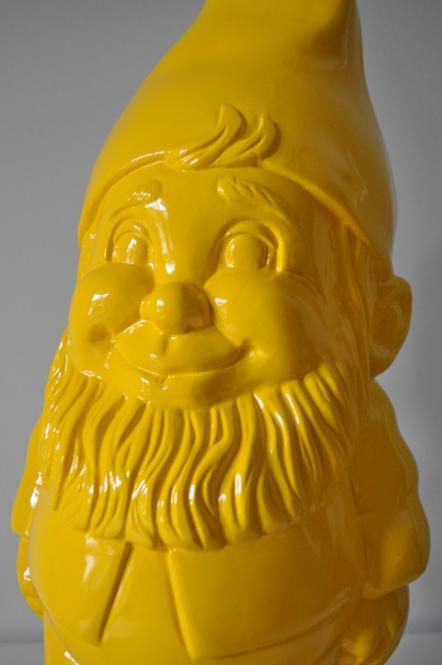Zauberzwerg Gartenzwerg 52 cm groß Designer Zwerg Deko Figur