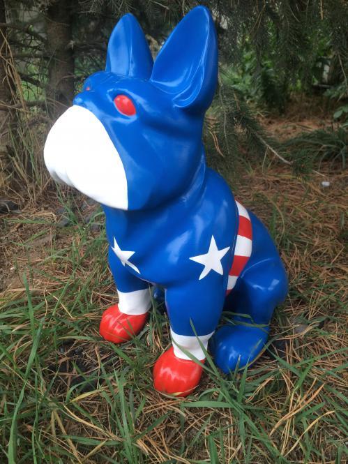 Bulldogge Captain America