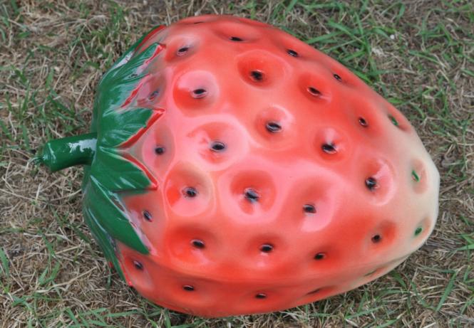 Erdbeere Dekoobst